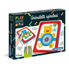 PLAY CREATIVE - ANIMALETTI SPIR.