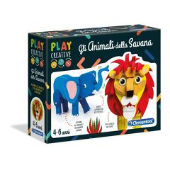 PLAY CREATIVE - ANIMALI SAVANA