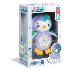 Baby Clementoni for you - Goodnight owl