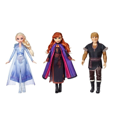 Bambola Frozen 2 Personaggi Assortiti