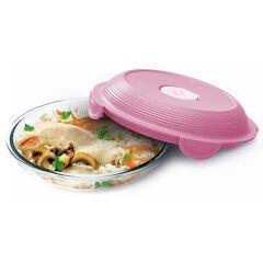 Lunch plate vetro