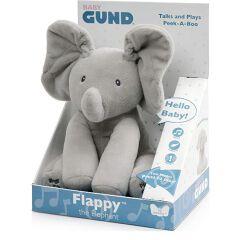Gund Flappy Elefantino -  Peluche Interattivo