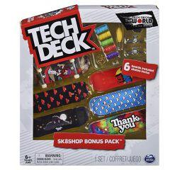 Tech Deck - Bonus Pack - 6 Skate Ass.ti