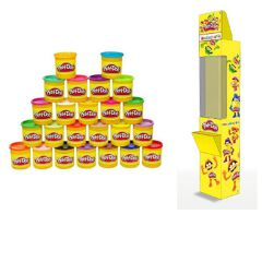 Display Play Doh Single Can