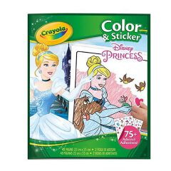 Album Color and Sticker Disney Principesse