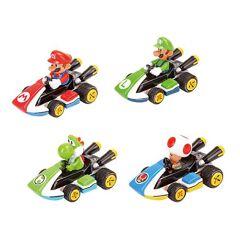 Pull & Speed - Mario Kart - 4 Asst. Blister