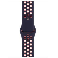 40mm Blue Black/Bright Mango Nike Sport Band - Regular