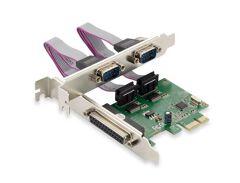 SCHEDA PCI EXPRESS 1-PARALLELA e 2-SERIALI