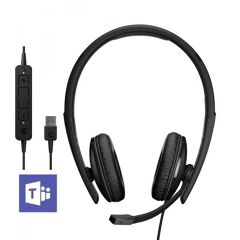 ADAPT 160T ANC USB-A, Cuffia stereo, microfono a cancellazione di rumore, padiglioni maggiorati - Certificata Microsoft teams