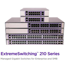 210-SERIES 24 PORT 10/100/1000BASE-T POE+  2 1GBE UNPOPULATED SFP PORTS  1 FIXED AC PSU  L2 SWITCHING WITH STATIC ROUTES  1 COUNTRY-SPECIFIC