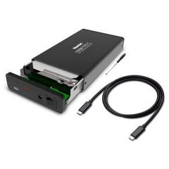 """HXD35TCU31 BOX 3.5"""" USB 3.1 TYPE-C SATA III"""