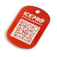 ICEPRO - Medaglietta con QR Code identificativo