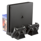 Konix Starship Supporto di Raffreddamento e Ricarica per PS4