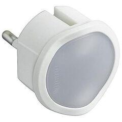 Crepuscolare Dimmere con Presa Standard Tedesca - Bianco-