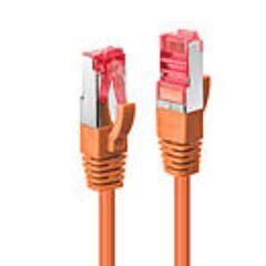 Cavo di Rete Cat.6 S/FTP Arancione, 0.3m