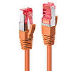 Cavo di Rete Cat.6 S/FTP Arancione, 0.5m