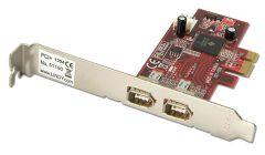 SCHEDA PCI EXPRESS 2 PORTE FIREWIRE