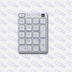 23O-00026 =>>STAND ALONE NUMBER PAD WHITE