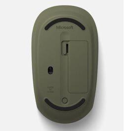 Bluetooth camo mouse green