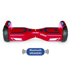 DOC 2 HOVERBOARD PLUS RED/BLUE