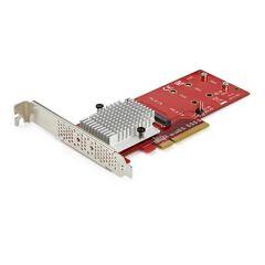 Adattatore PCI Express 3.0 x8 per SSD M.2 NVMe