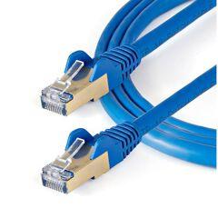 Cavo di rete Ethernet RJ45 CAT6a da 10m - Blu