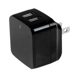 Caricabatterie da parete a due porte USB