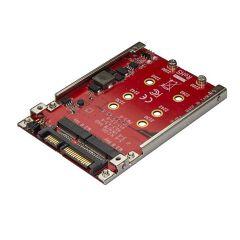 """Adattatore per 2 SSD M.2 a SATA per alloggio 2,5"""""""