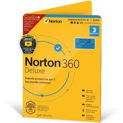 NORTON 360 DELUXE 25GB IT 1 USER 3 DEVICE 12MO ESPRINET TECHBENCH ATT DVDSLV