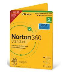 NORTON 360 STANDARD 10GB IT 1 USER 1 DEVICE 12MO ESPRINET TECHBENCH ATTACH DVDSLV