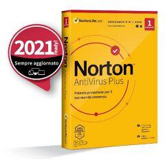 Norton Antivirus Plus - 1 Dev - 2GB - IT BOX