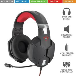 GXT322 CARUS HEADSET BLACK