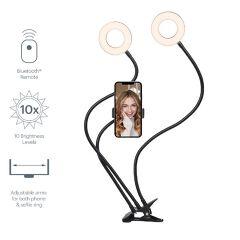 CY3538VCSLR - V-Dual Classic 2-in-1 Ring Light con supporto per telefono