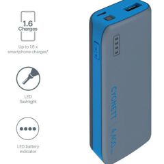 Battery Bank 4400 mah con torcia LED integrata