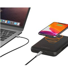 BATTERY BANK WIRELESS USB-C/A 27000MAH 72W