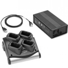 BASE DI RICARICA PER 4 BATTERIE MC9200/MC9300 KIT CON ALIMENTATORE